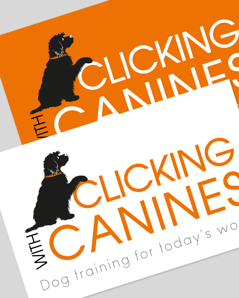 Clicking with Canines Logo design